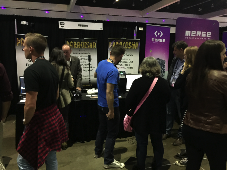 VRLA 2017 Paracosma booth