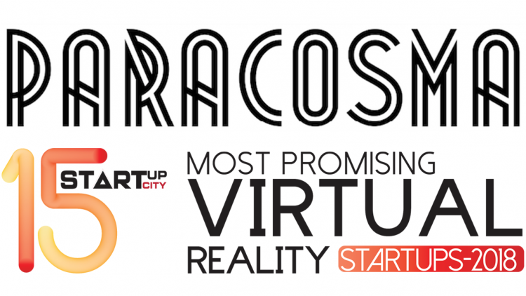 "Paracosma Recognized as one of the ""15 Most Promising Virtual Reality Startups 2018"""