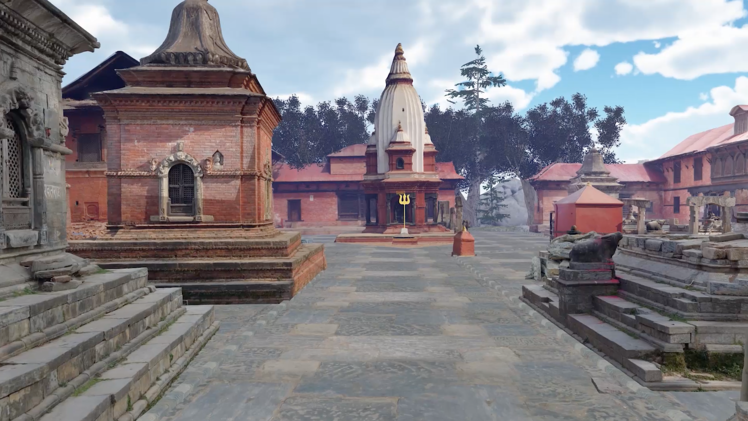 Photogrammetry Scan Reconstruction | Pashupatinath Temple in VR