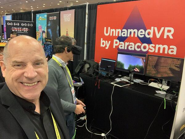 UnnamedVR Open-Ended Sandbox Game at Game Development Conference (GDC) 2019