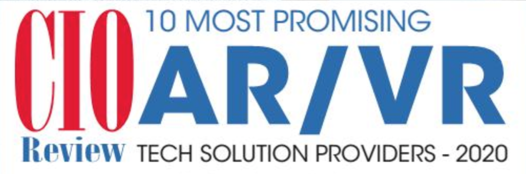 "Paracosma Named as One of the ""10 Most Promising AR/VR Tech Solution Providers - 2020"""