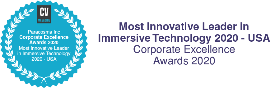 """Paracosma Recognized as Most Innovative Leader in Immersive Technology 